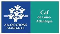 Logo CAF Loire-Atlantique